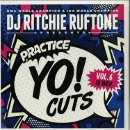Front View : DJ Ritchie Ruftone - PRACTICE YO! CUTS VOL.6 (10 INCH) - Turntable Training Wax / TTW012
