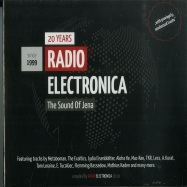 Front View : Various Artists - 20 YEARS RADIO ELECTRONICA - THE SOUND OF JENA (2XCD) - Radio Electronica / 20YRECD