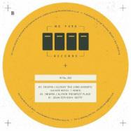 Front View : Crispin Glover / Dean Zepherin - NFRV 002 (140 G VINYL) - No Fuss / NFRV 002