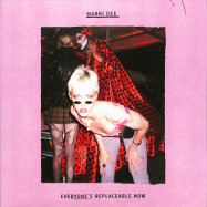 Front View : Manni Dee - EVERYONES REPLACEABLE NOW (PINK VINYL) - Perc Trax / TPT087