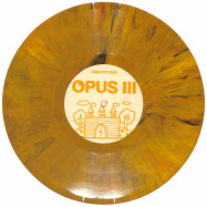 Front View : Unknown - OPUS III / KINGZ OF THE CASTLE (ORANGE MARBLED VINYL) - Vibez 93 / NAUGHTY93001