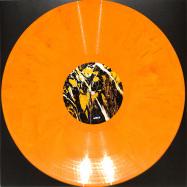 Front View : Stephan Bazbaz / Leon / iO (Mulen) / Fabe - MOANIZED 06 (LTD ORANGE MARBLED VINYL) - Moan Recordings / MOANV09
