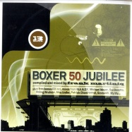 Front View : V/A compiled & mixed by Frank Martiniq - BOXER 50 JUBILEE (2CD) - Boxer 050 CD