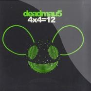 Front View : Deadmau5 - 4x4 = 12 (2x12 Black Vinyl) - Mau5trap / Mau5LPX05