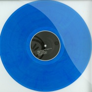 Front View : Kardinal - SPUR OF THE MOMENT (BLUE COLOURED VINYL) - Afulab / AFULAB34