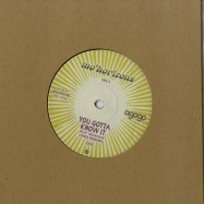 Front View : Mo Horizons - YOU GOTTA KNOW IT (7 INCH) - Agogo Records / AR122VL