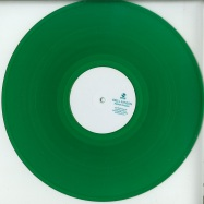 Front View : Erell Ranson - AWAKEN DREAMS (GREEN TRANSPARENT VINYL) - Subwax Excursions / SUBWAX E-X-C Green