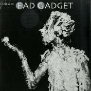 Front View : Fad Gadget - THE BEST OF FAD GADGET (SILVER 2LP + MP3) - Mute / MUTEL7