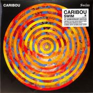 Front View : Caribou - SWIM (LTD MARBLED ORANGE/RED 2LP) - City Slang / SLANG50275X