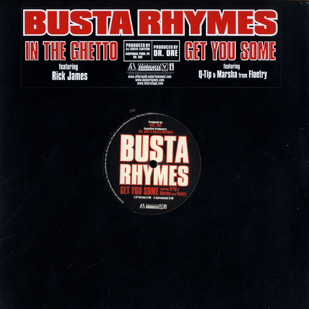 Busta Rhymes - IN THE GHETTO / GET YOU SOME