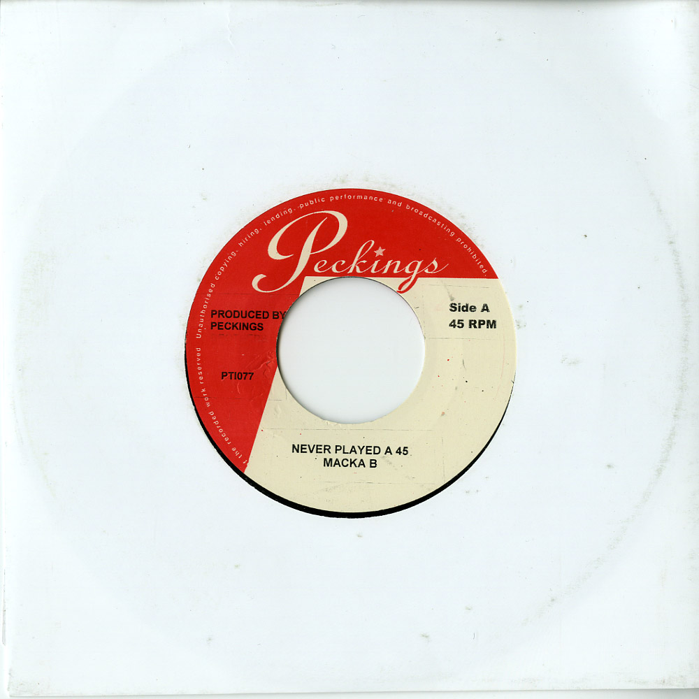 Macka B / Leanna - NEVER PLAYED A 45 / GRAPEVINE