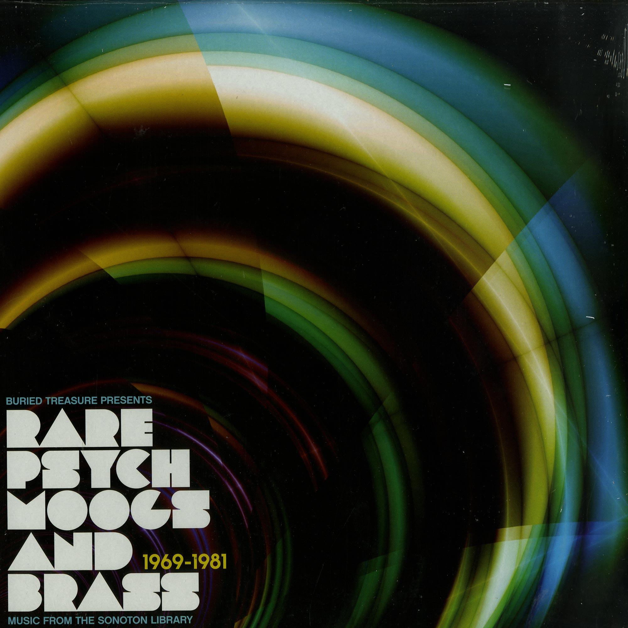Various Artists - RARE PSYCH MOOGS & BRASS