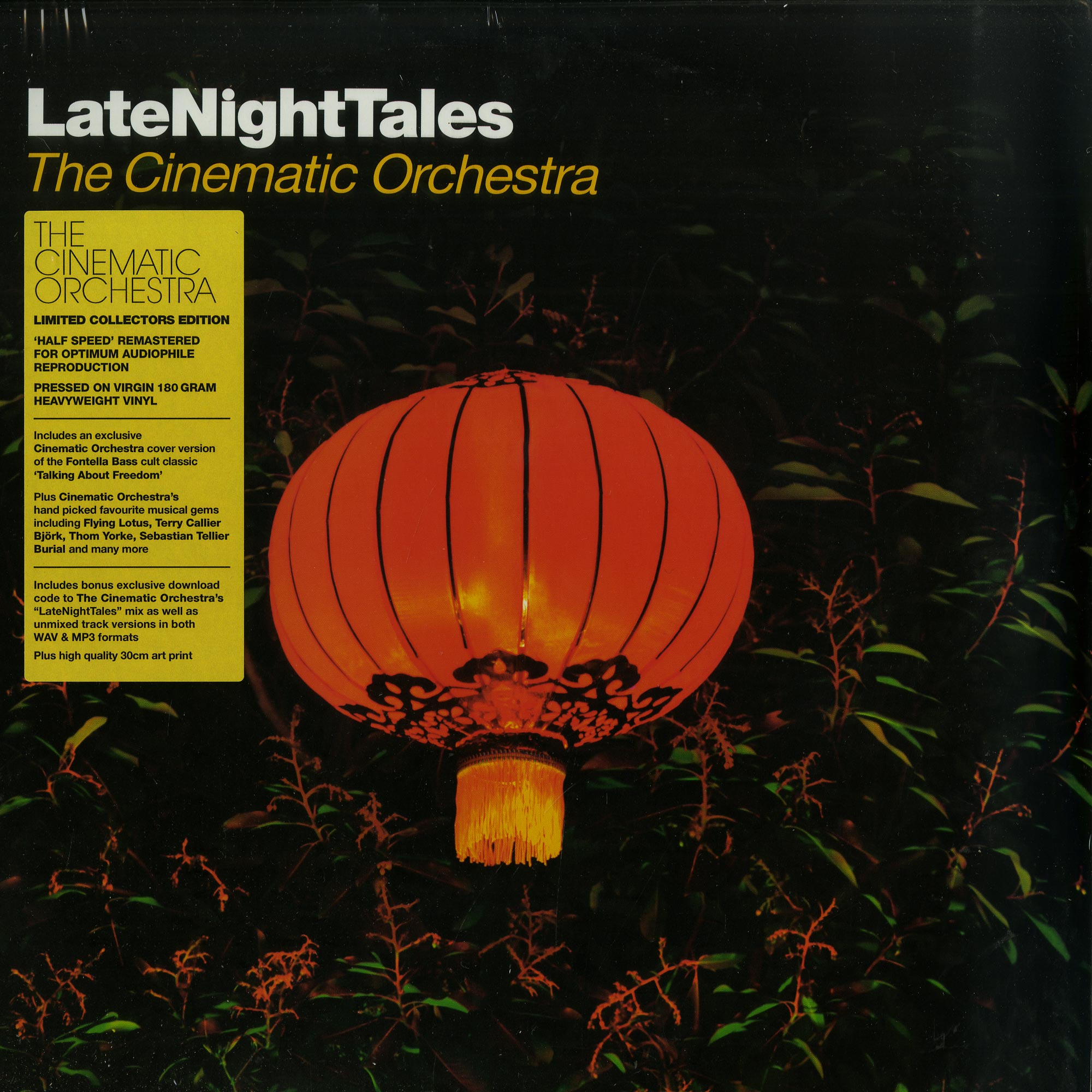 Various Artists - LATE NIGHT TALES: THE CINEMATIC ORCHESTRA