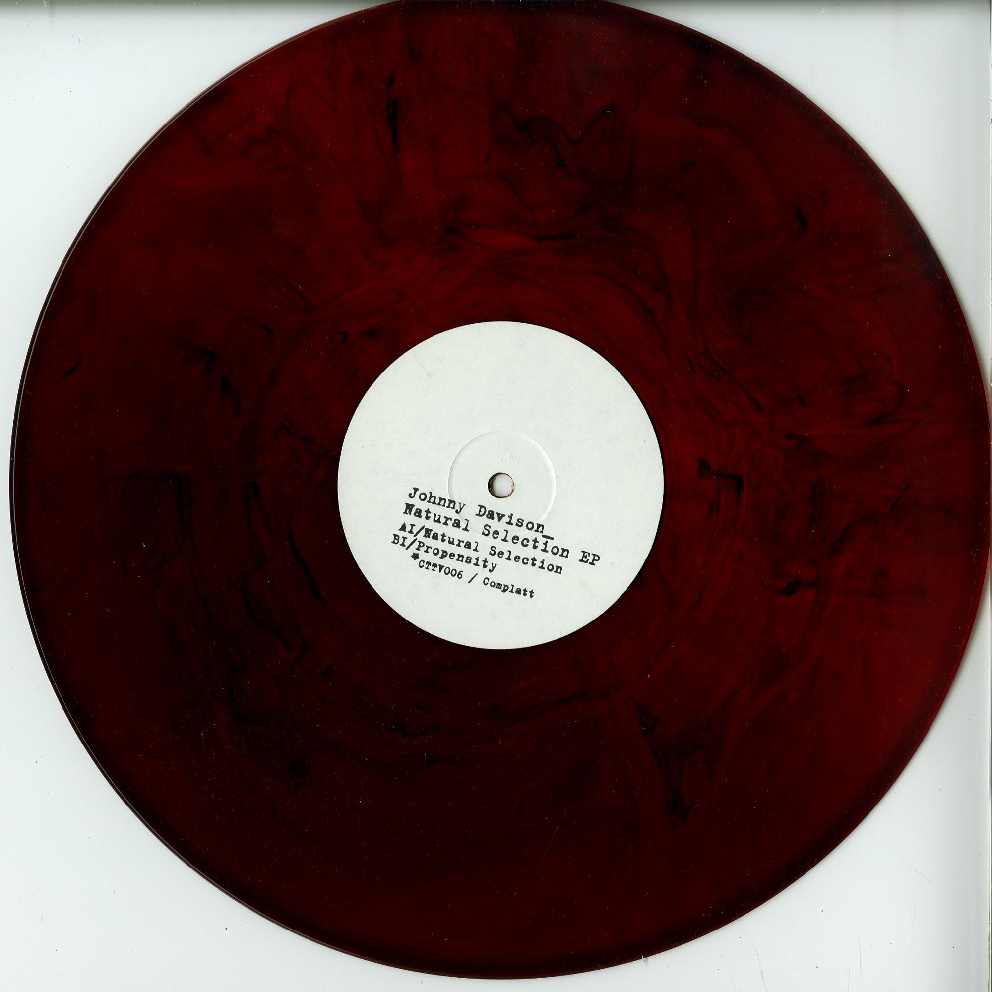 Johnny Davison - NATURAL SELECTION EP