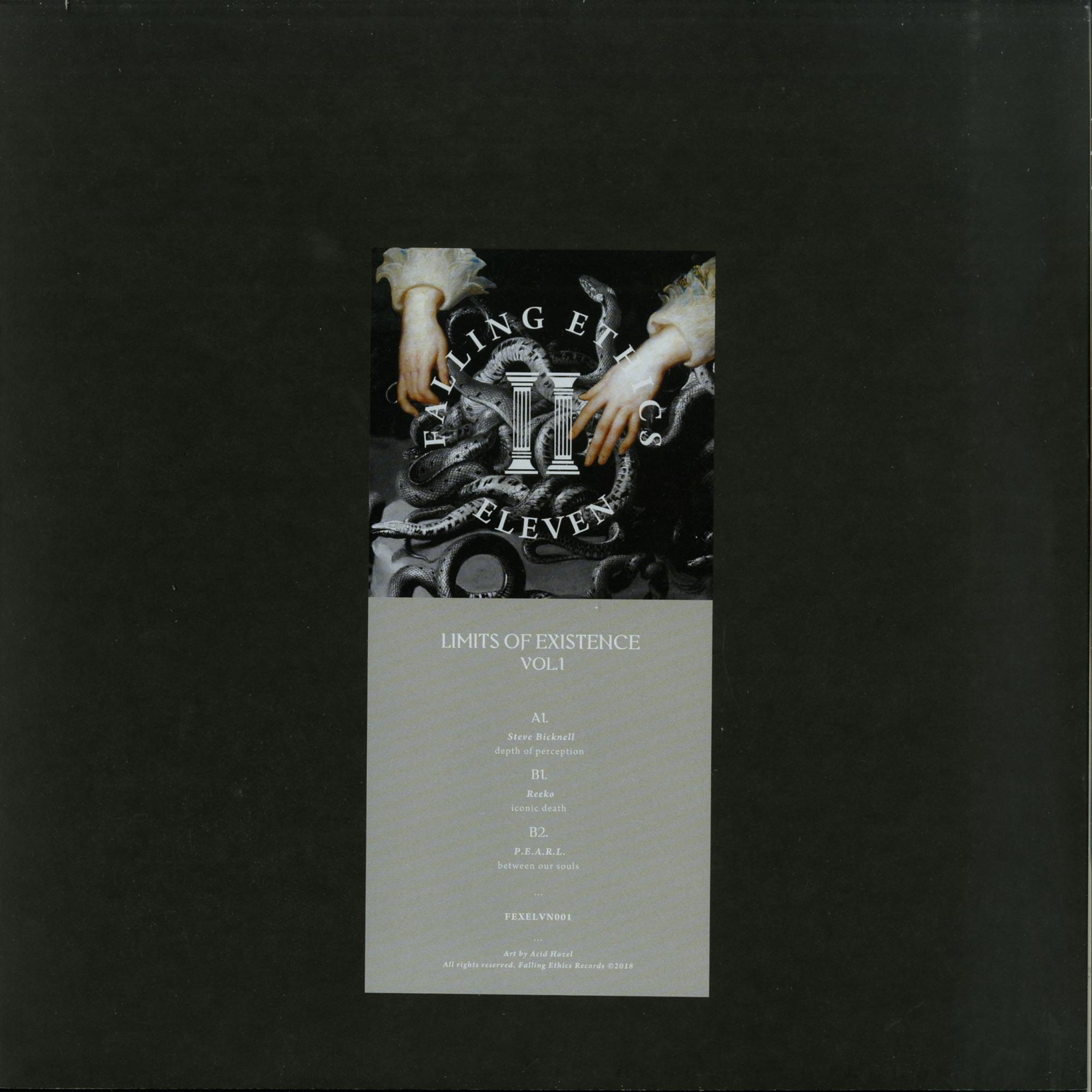 Steve Bicknell / Reeko / P.E.A.R.L. - LIMITS OF EXISTENCE VOL. 1