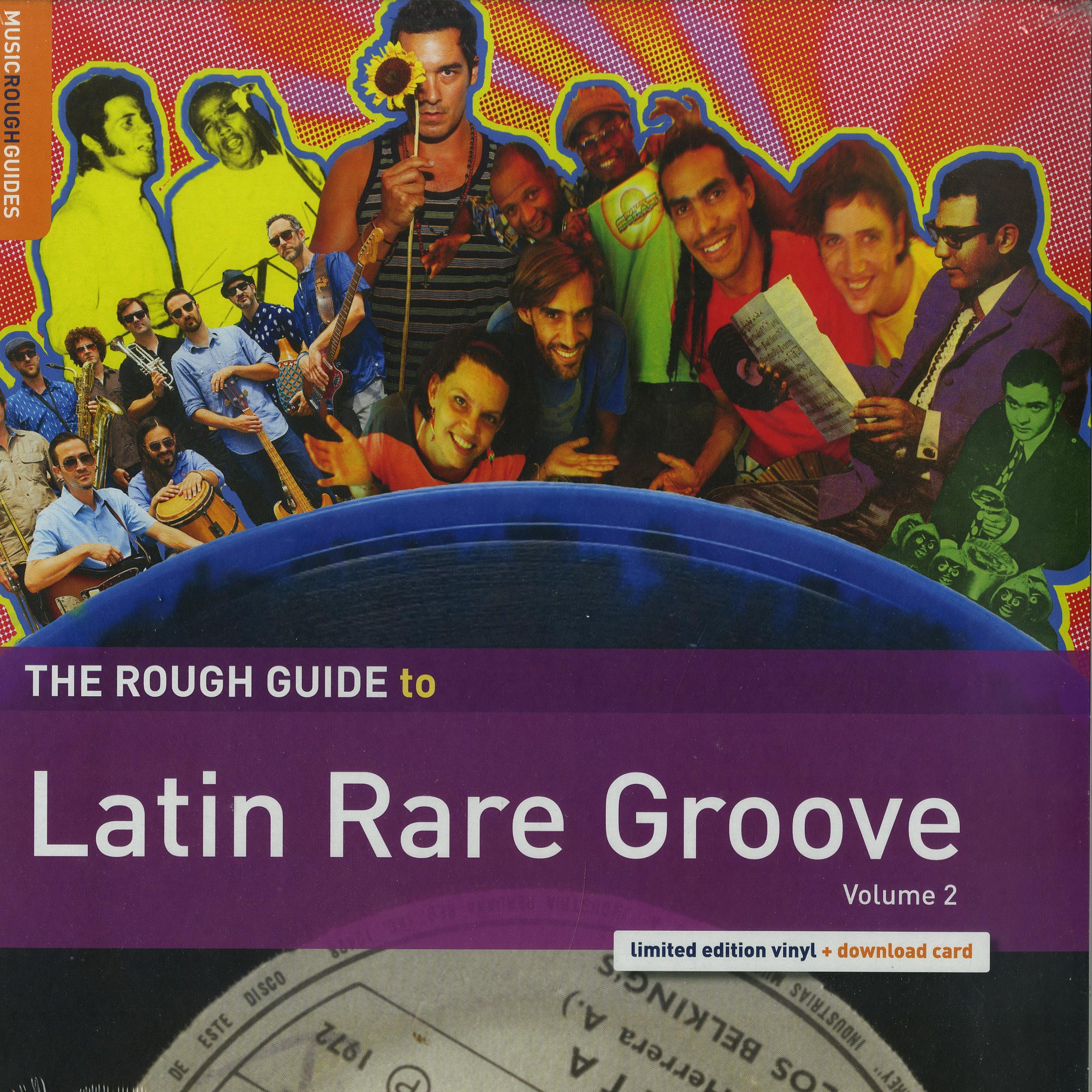 Various Artists - THE ROUGH GUIDE TO LATIN RARE GROOVE VOL. 2