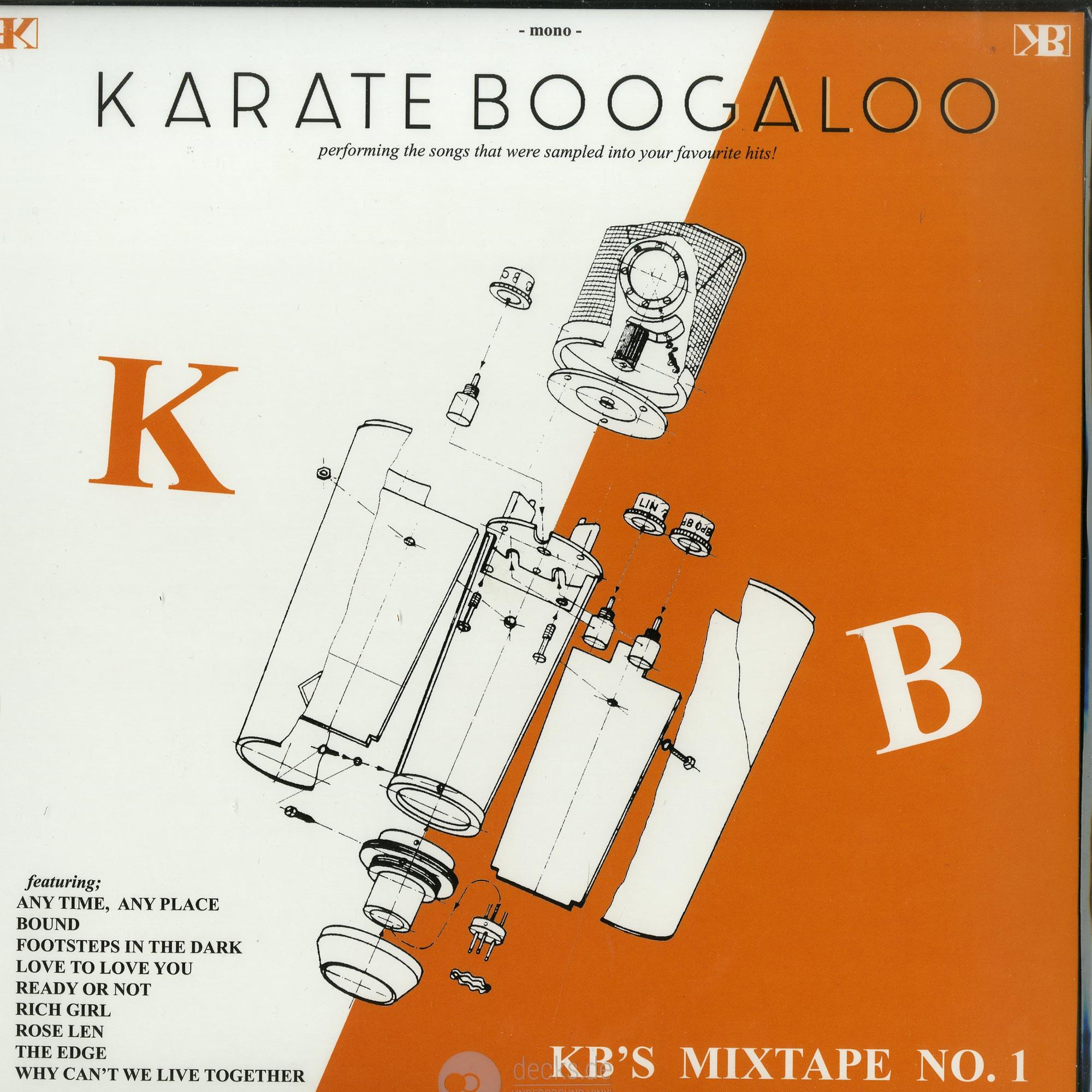 Karate Boogaloo - KBS MIXTAPE NO. 1