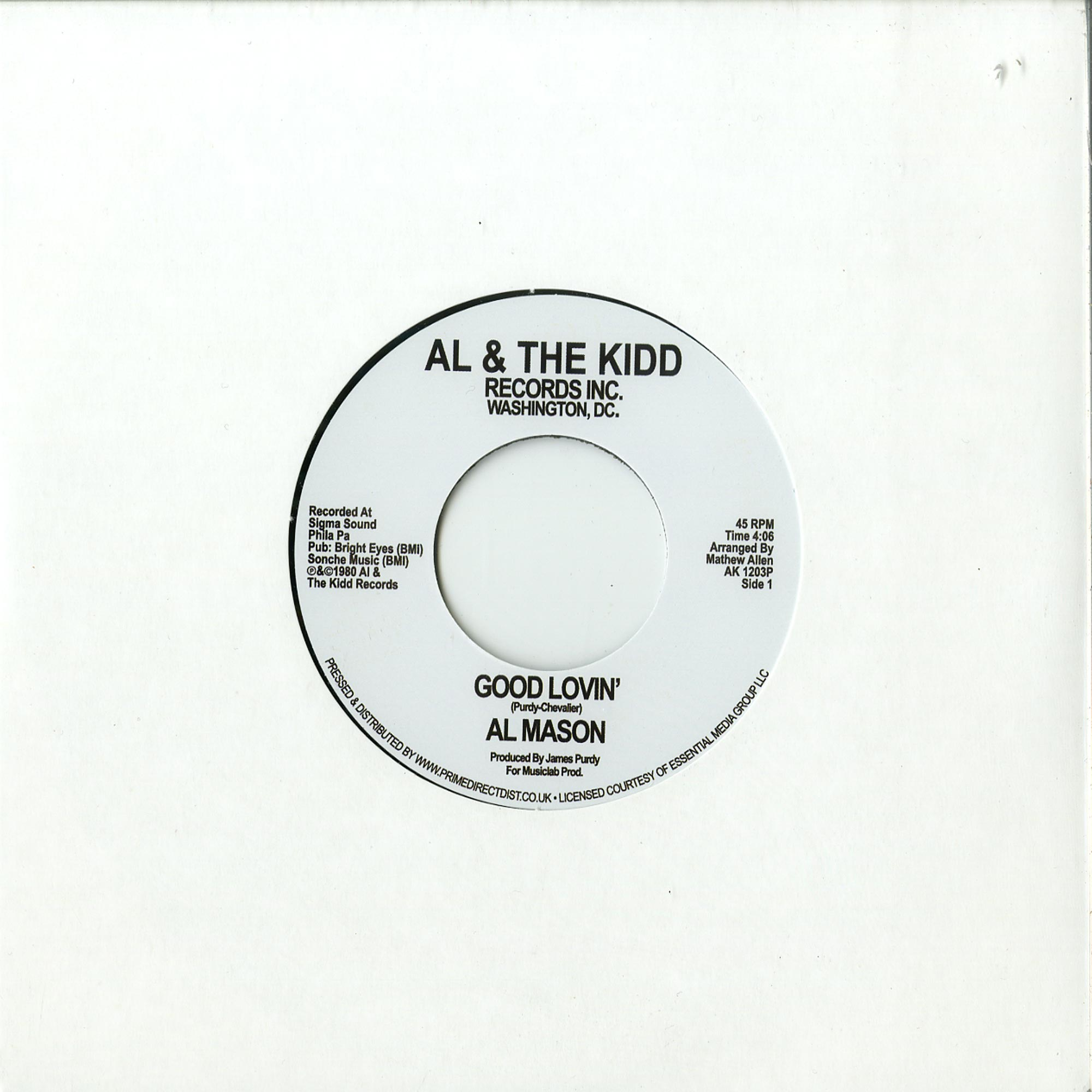 Al Mason - GOOD LOVIN / WE STILL COULD BE TOGETHER