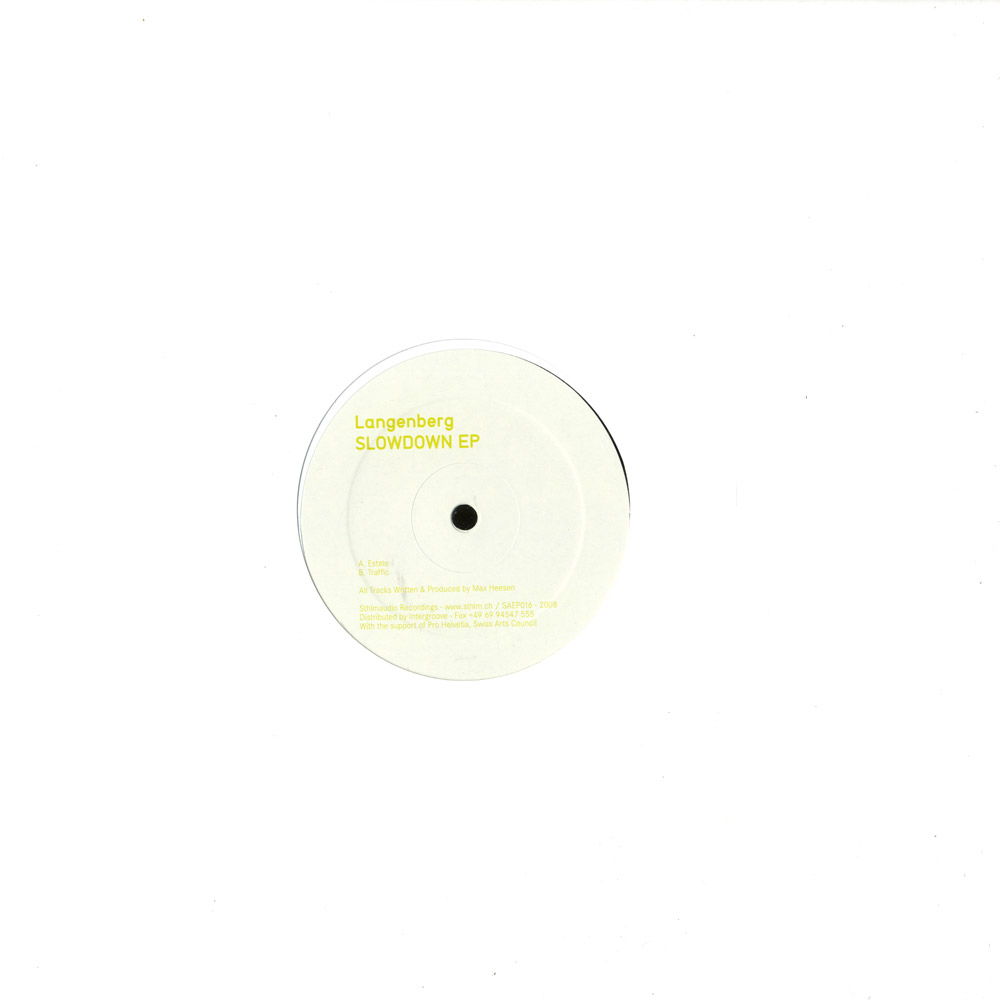 Langenberg - SLOWDOWN EP