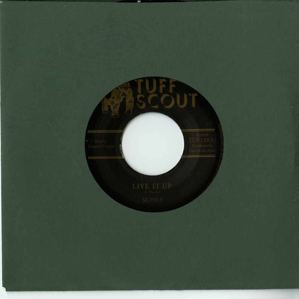 Moses / Tuff Scout All Stars - LIVE IT UP / A LIVING DUB