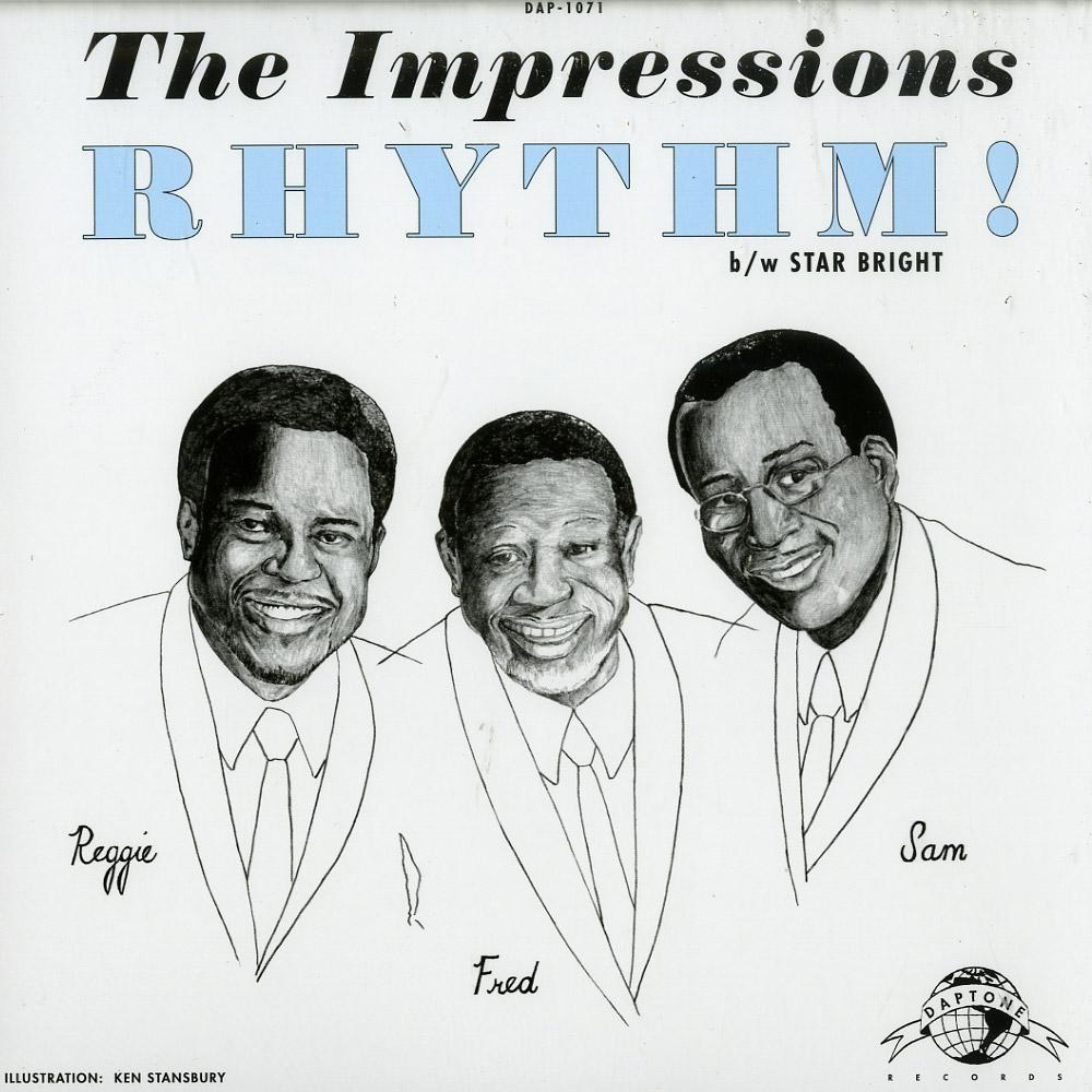 The Impressions - RHYTHM! / STAR BRIGHT
