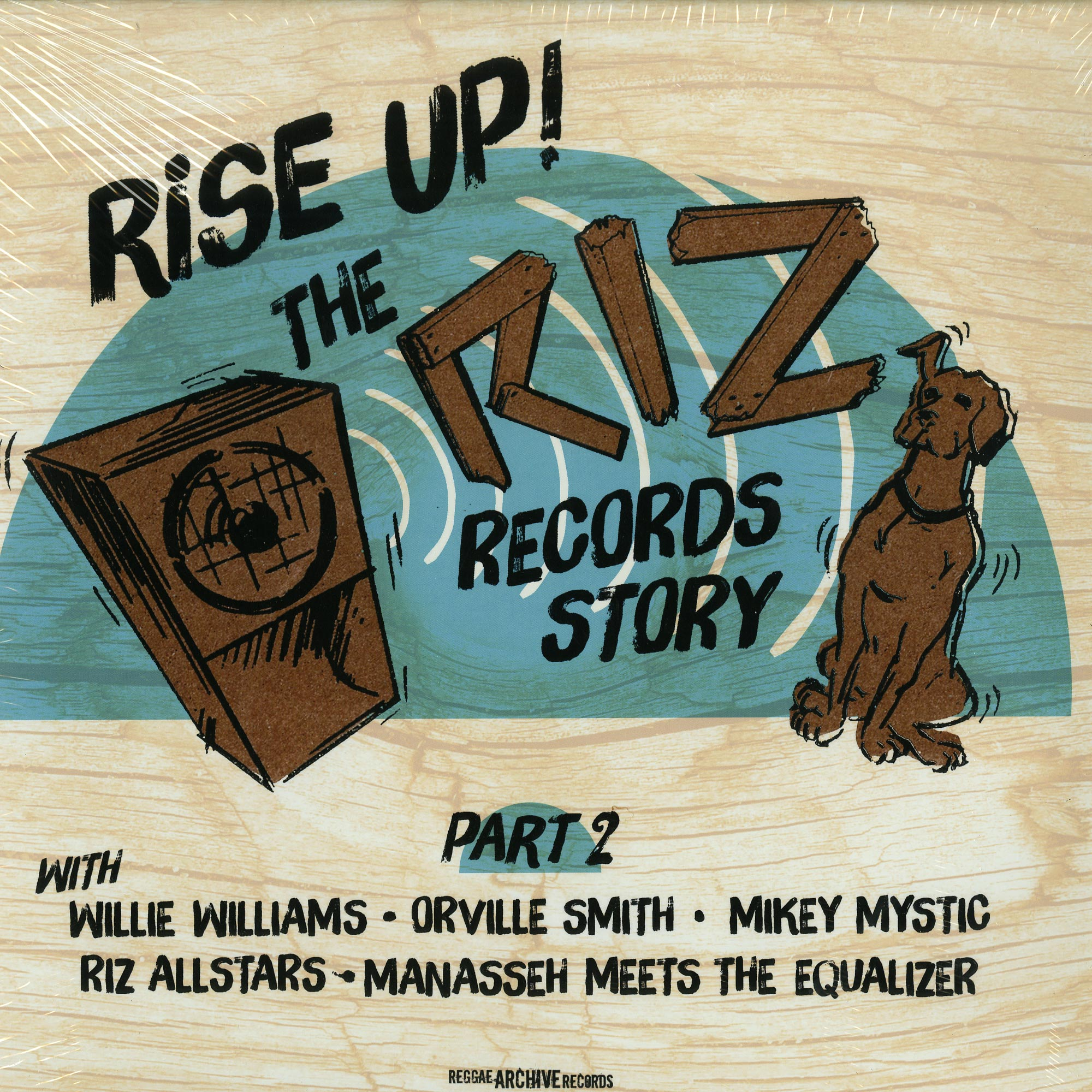 Various Artists - RISE UP - THE RIZ RECORDS STORY PART 2