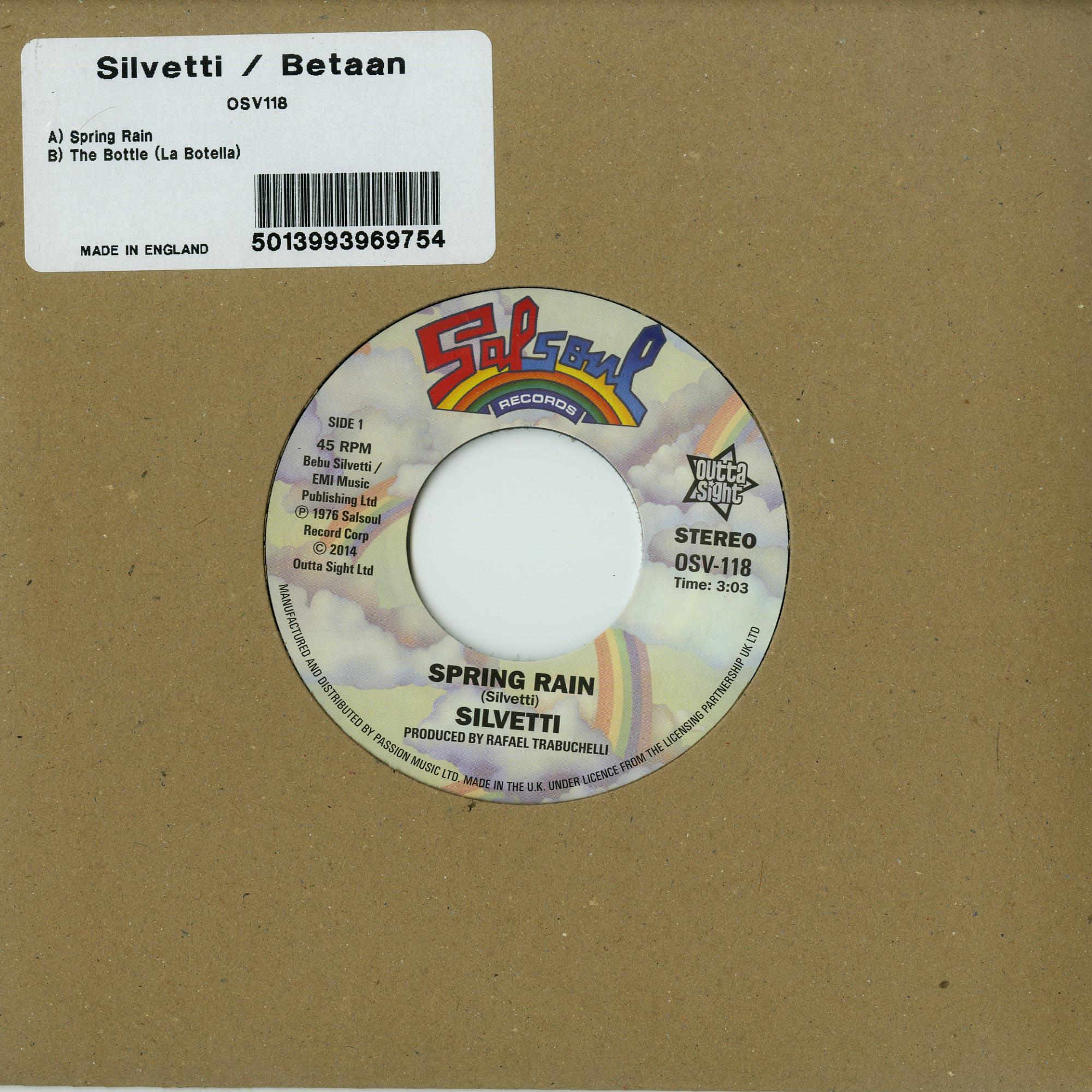 Silvetti / Bataan - SPRING RAIN/T HE BOTTLE