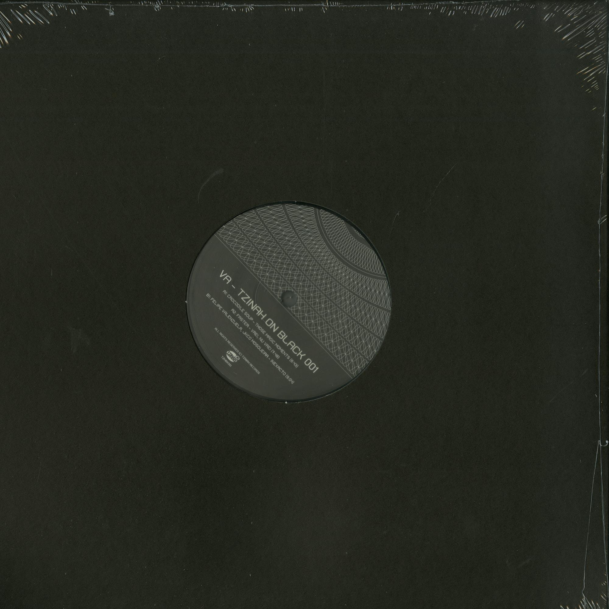 Various Artists - TZINAH ON BLACK