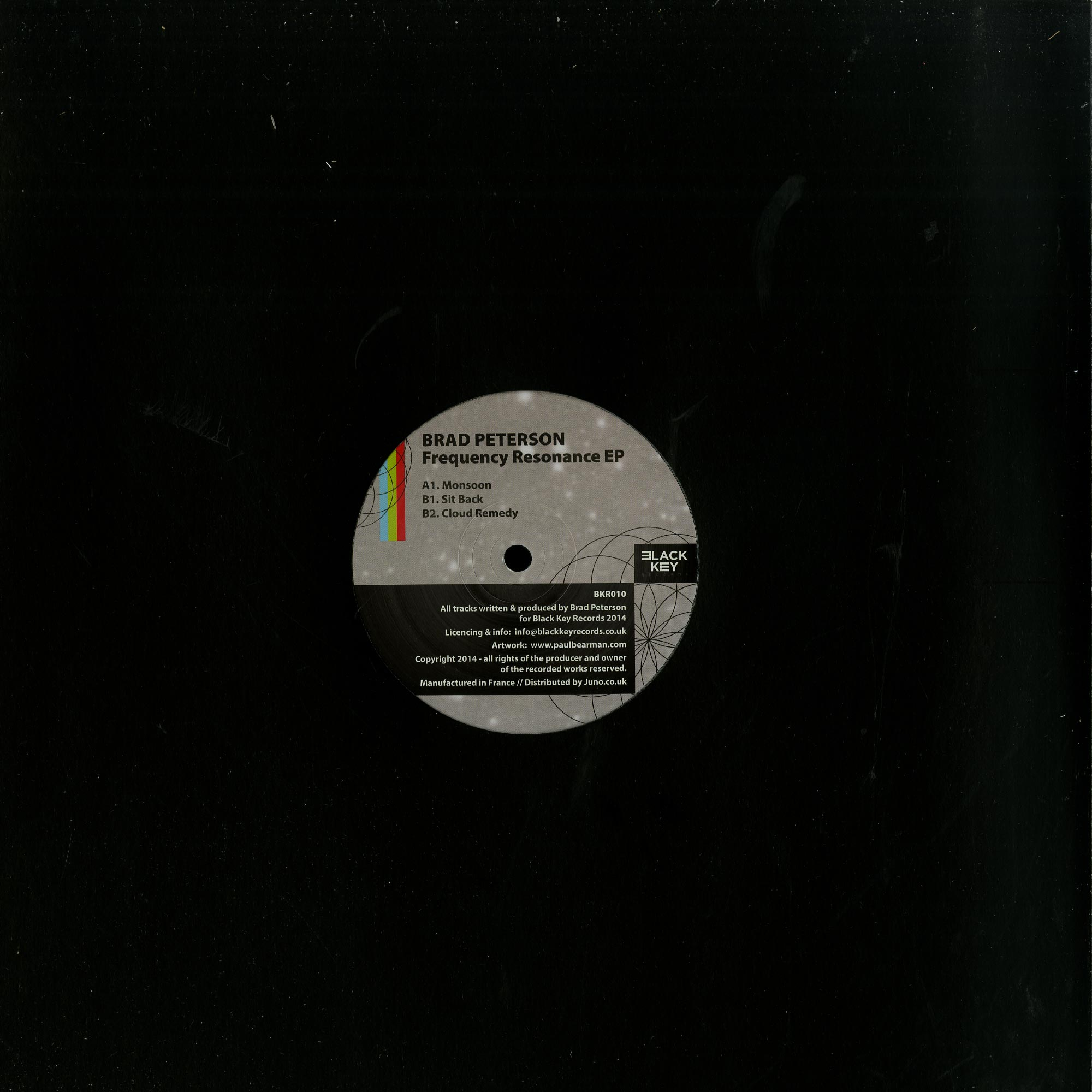 Brad Peterson - FREQUENCY RESONANCE EP