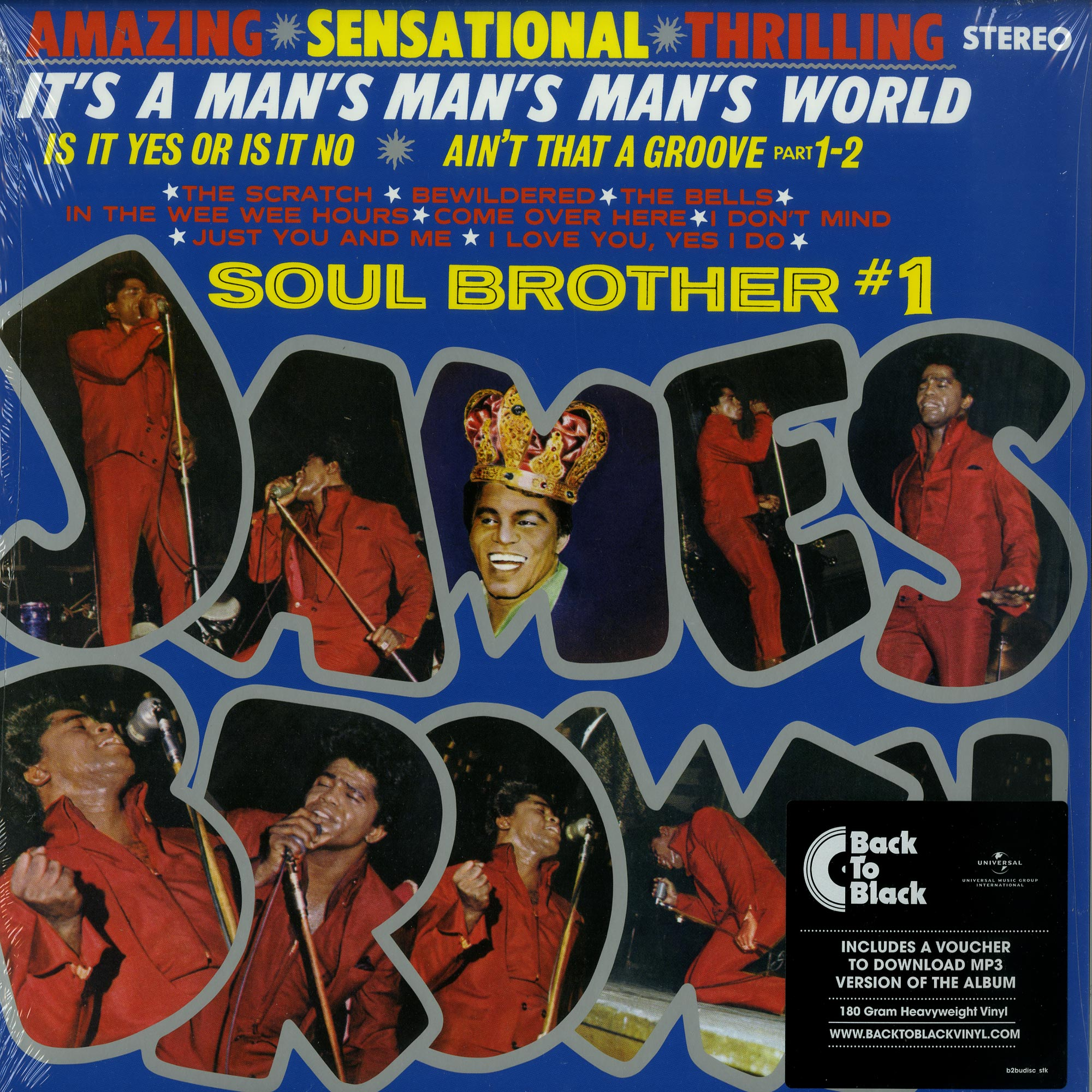 James Brown - ITS A MANS MANS MANS WORLD