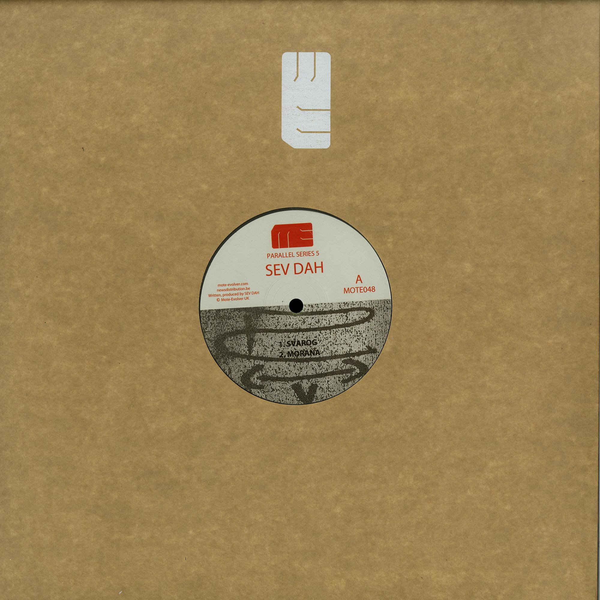 Sev Dah / Jeff Rushin - PARALLEL SERIES 5