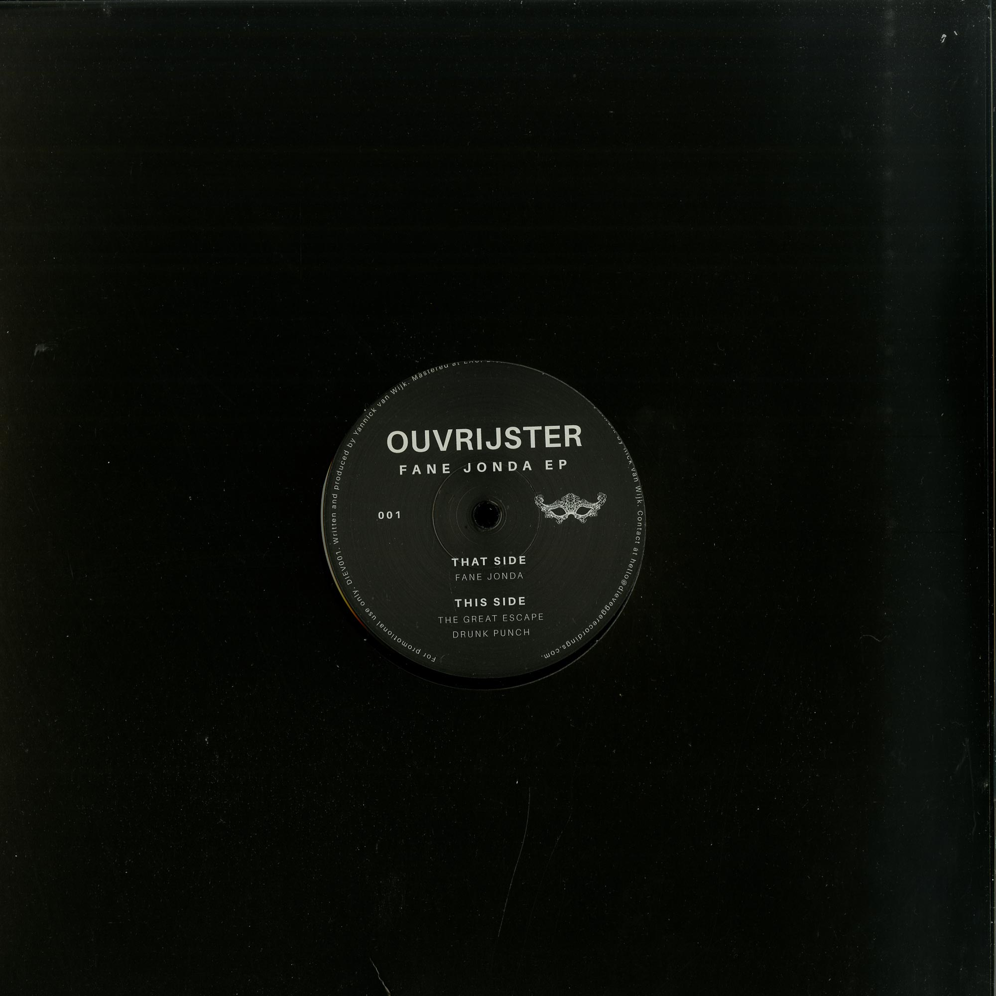 Ouvrijster - Fane Jonda EP