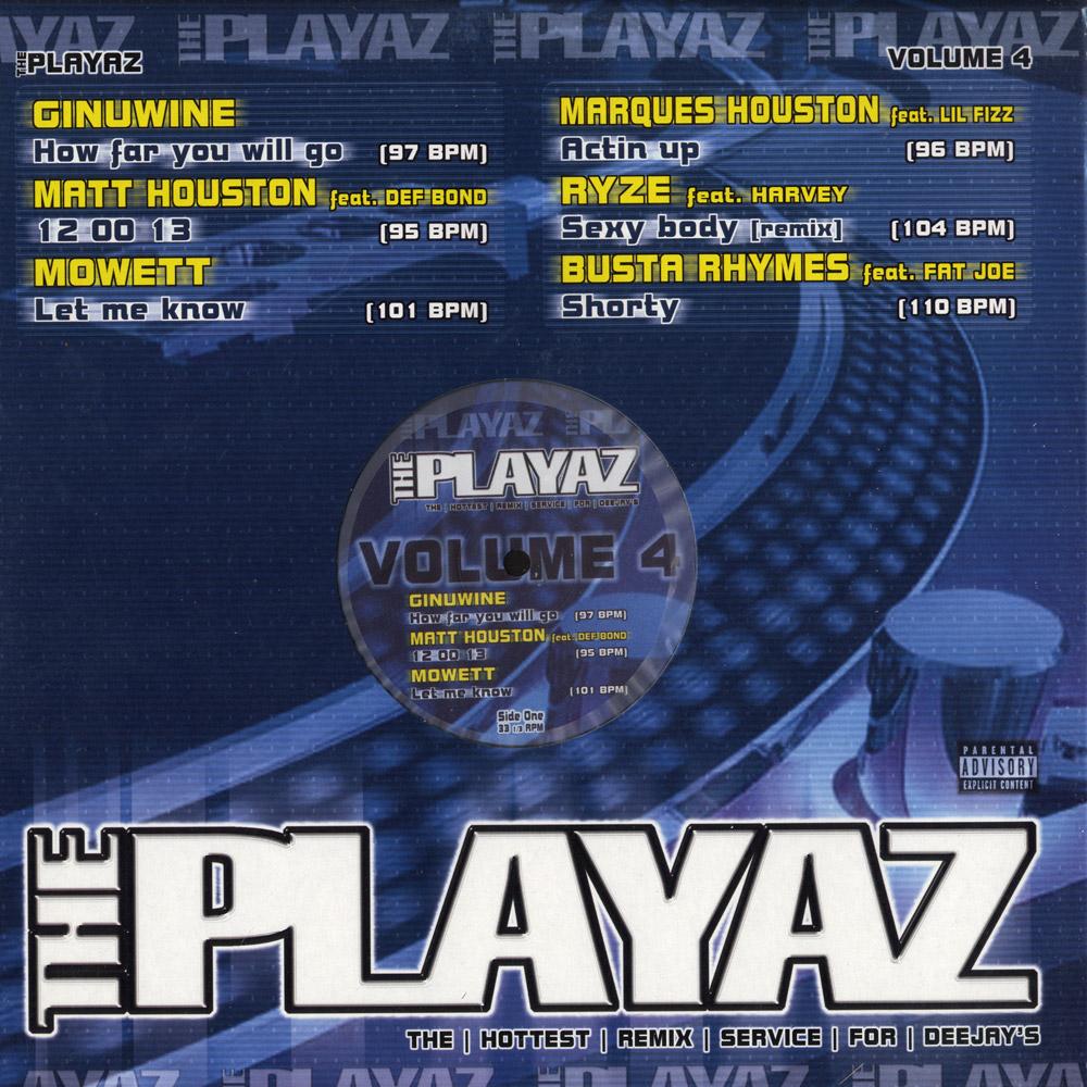 Various Artists - THE PLAYAZ VOL 4