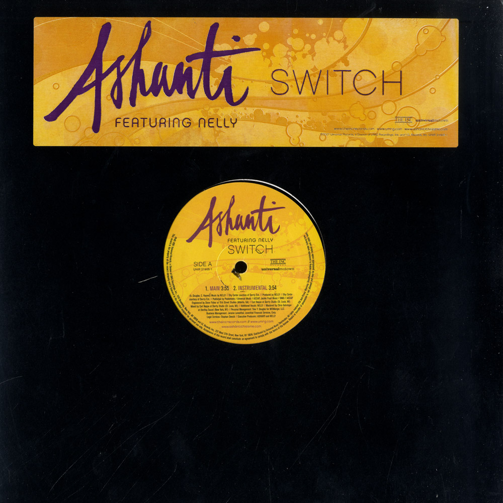 Ashanti - SWITCH PROMO ONLY