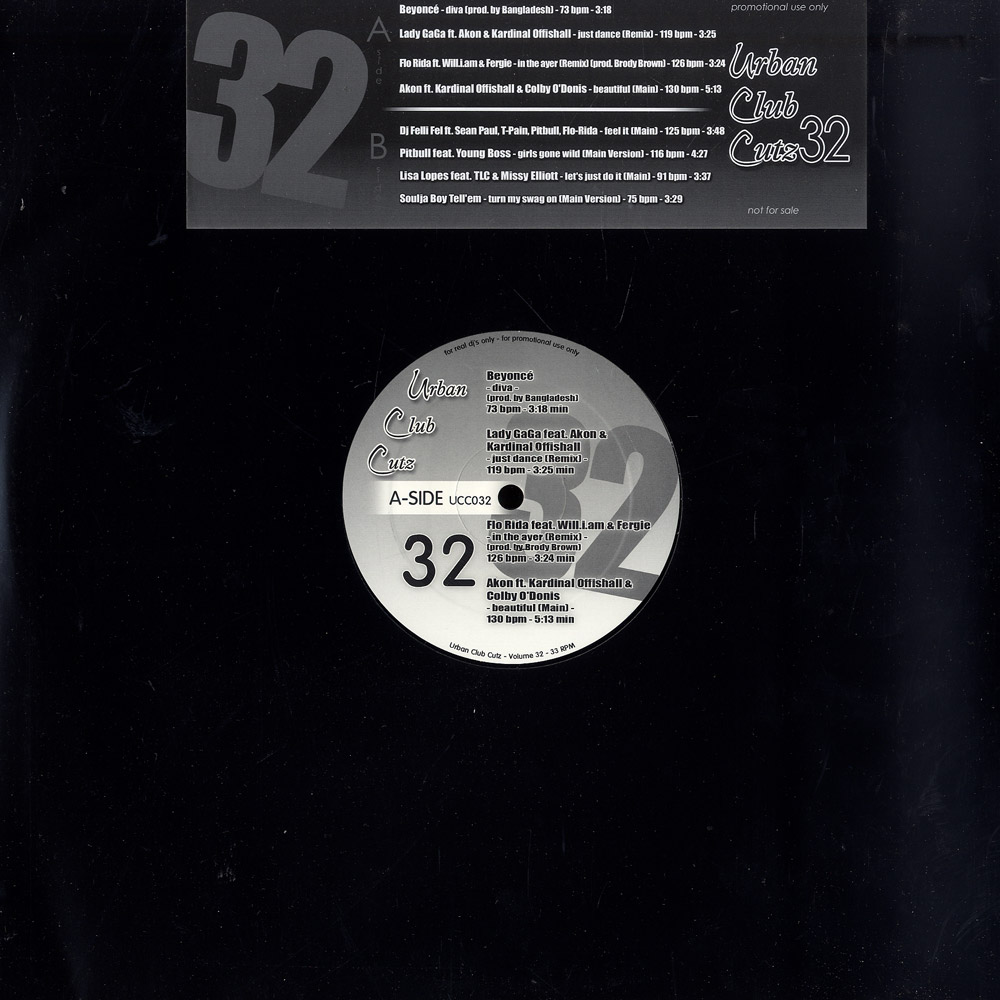 Various Artists - URBAN CLUB CUTZ 32