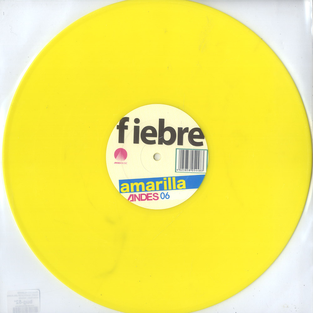 Francisco Allendes - FIEBRE AMARILLA EP