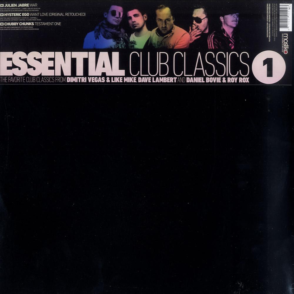 Julien Jabre / Hysteric Ego / Chubby Chunks - ESSENTIAL CLUB CLASSICS 1