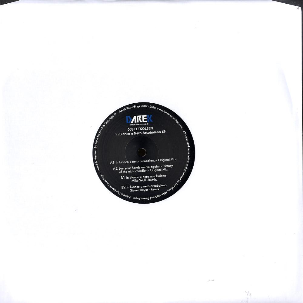 Letkolben - IN BIANCO E NERO ARCOBALENO EP
