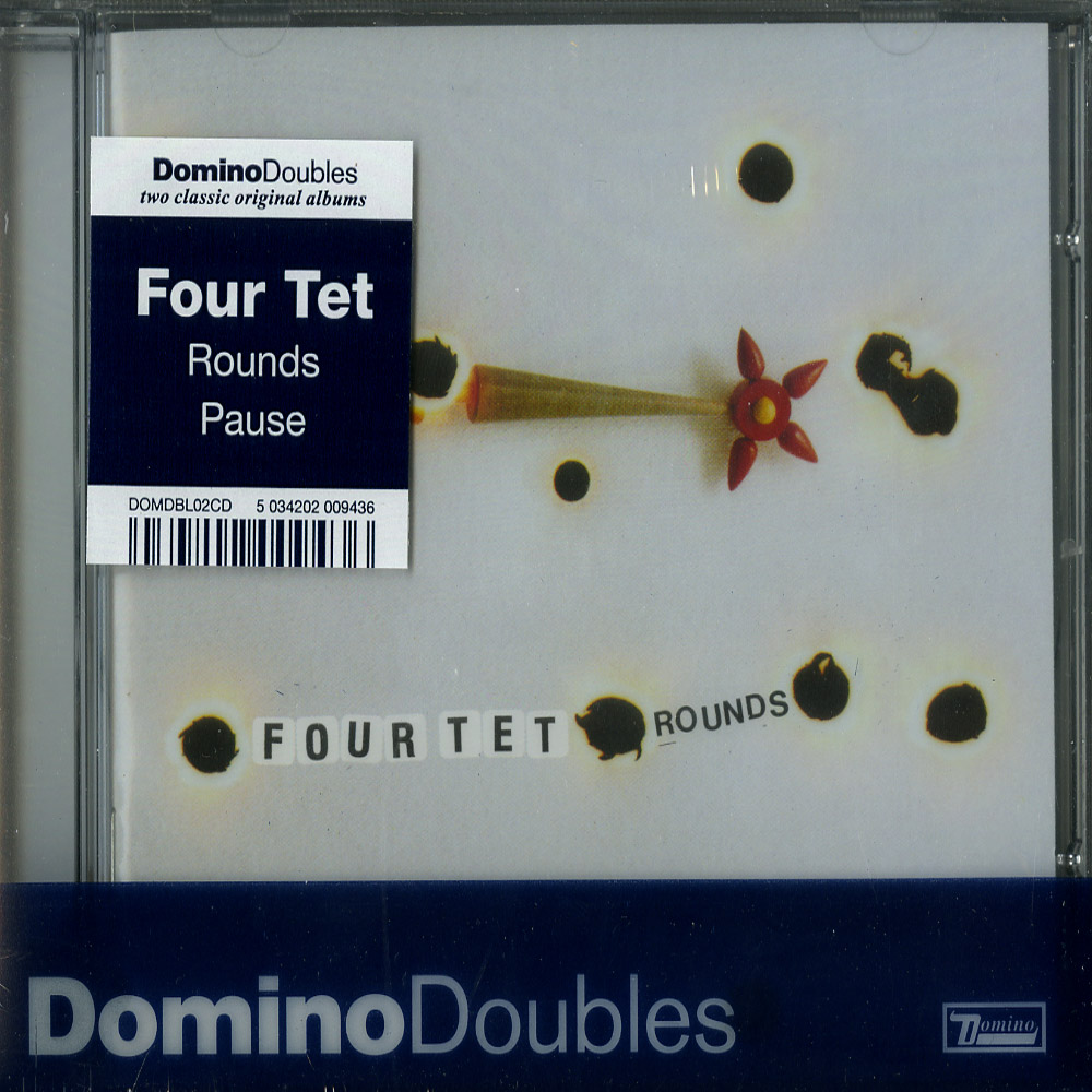 Four Tet - PAUSE / ROUNDS - DOMINO DOUBLE CD PACK