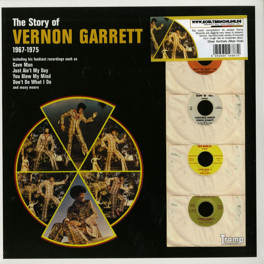 Vernon Garrett - THE STORY OF VERNON GARRETT - 1967-75
