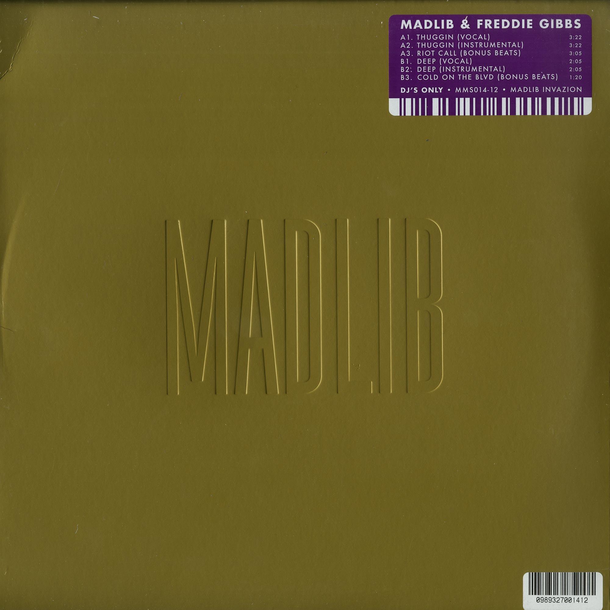 Madlib & Freddie Gibbs - THUGGIN EP
