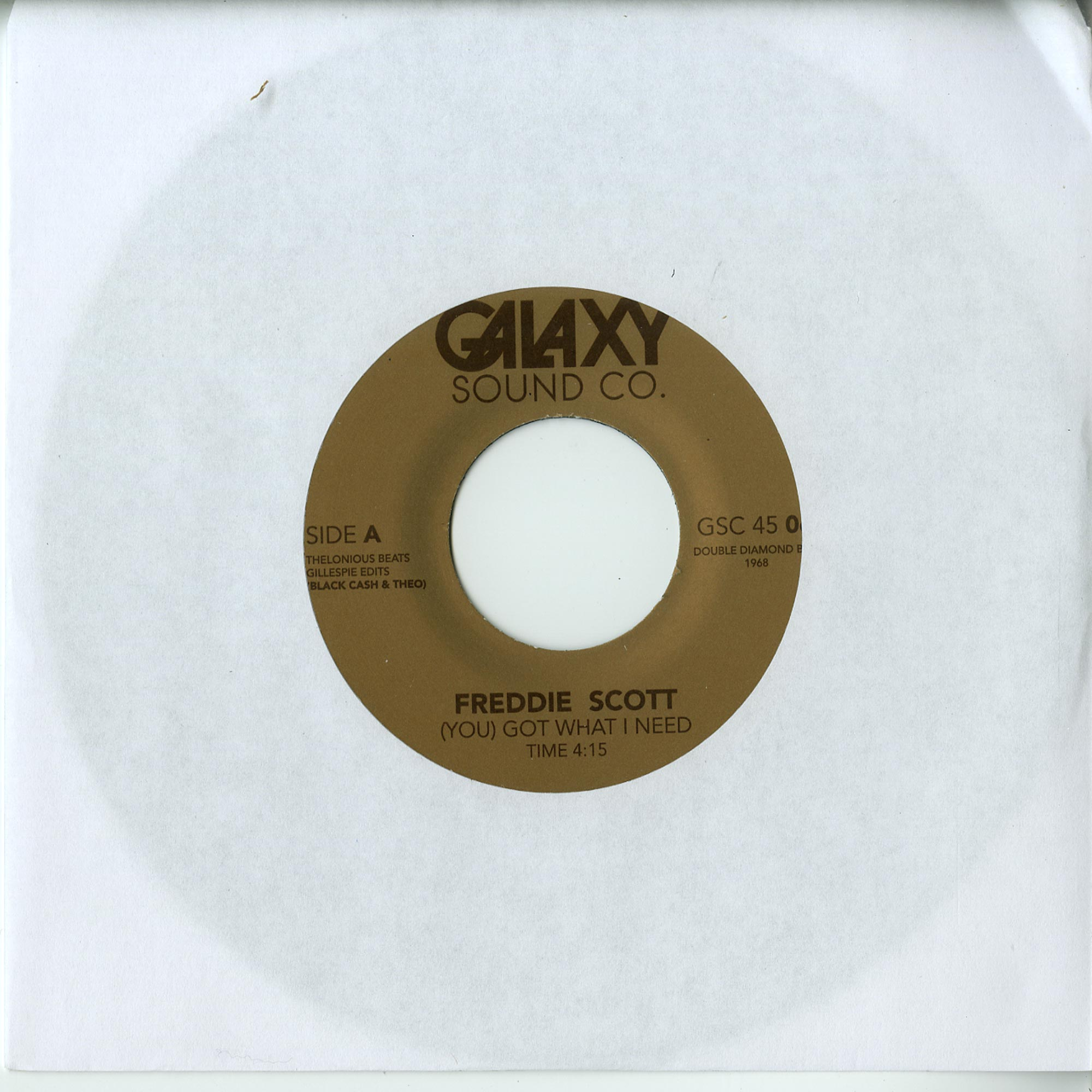 Freddy Scott & Ike Turner - GALAXY VOL. 6