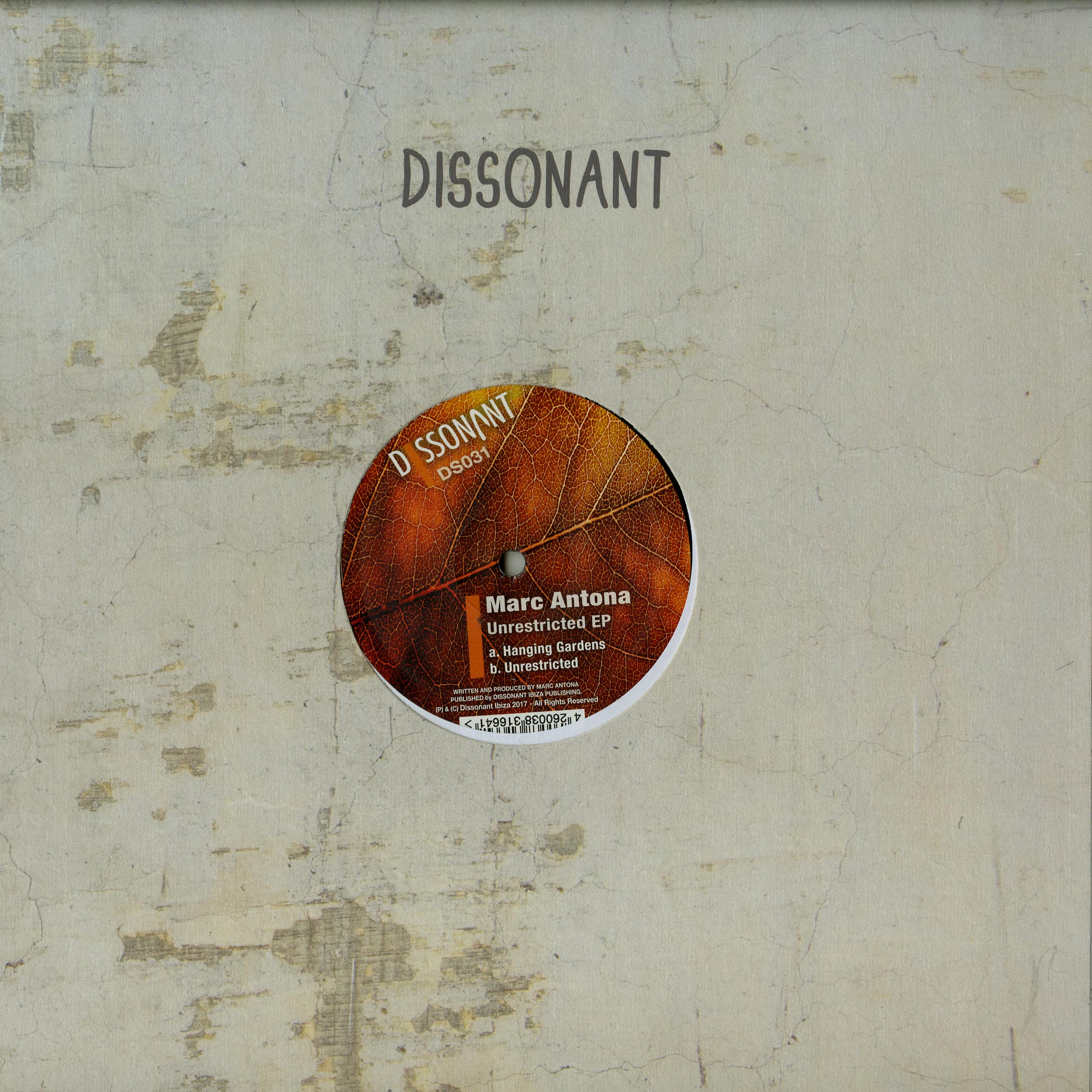 Marc Antona - UNRESTRICTED EP