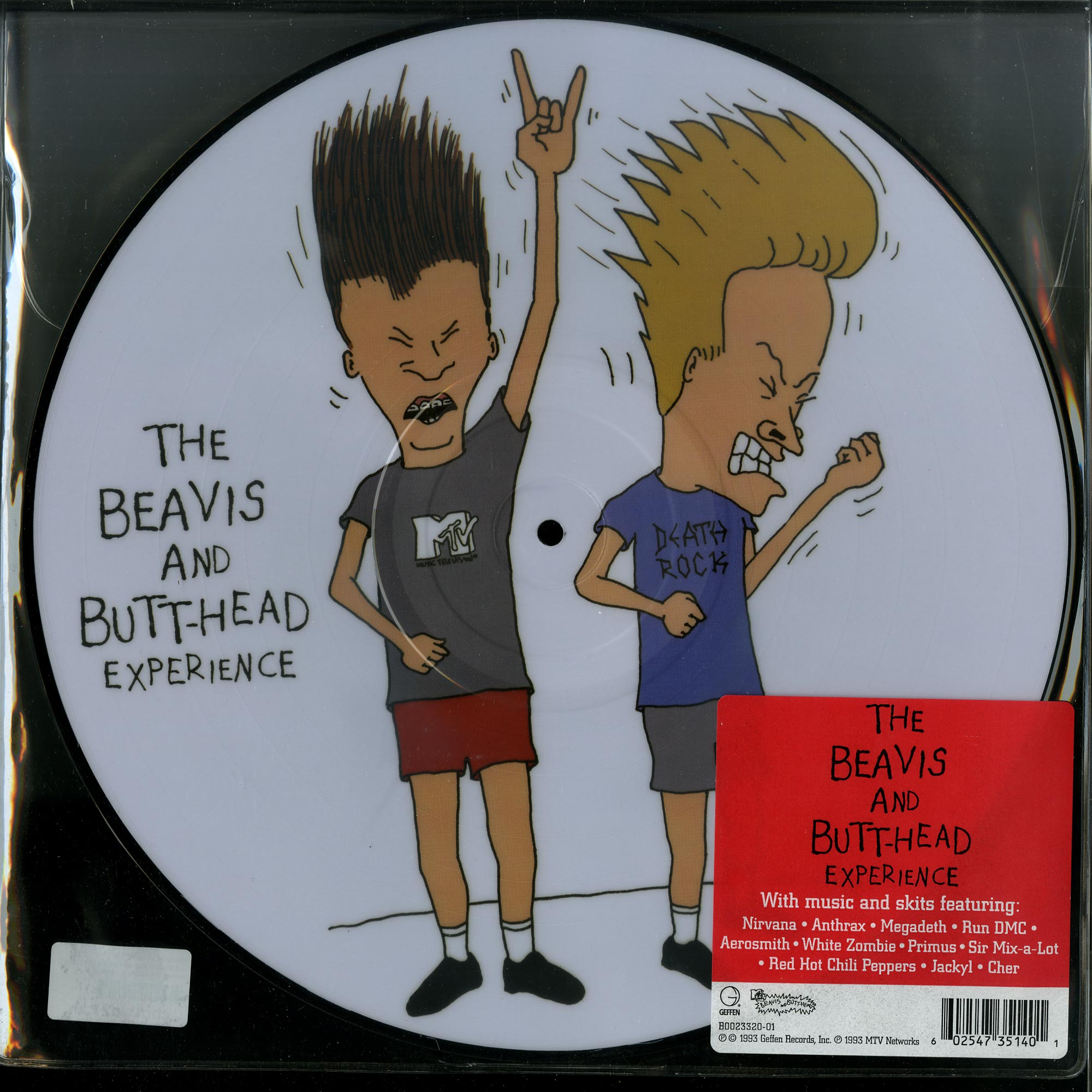 Various Artists - THE BEAVIS AND BUTT-HEAD EXPERIENCE O.S.T.