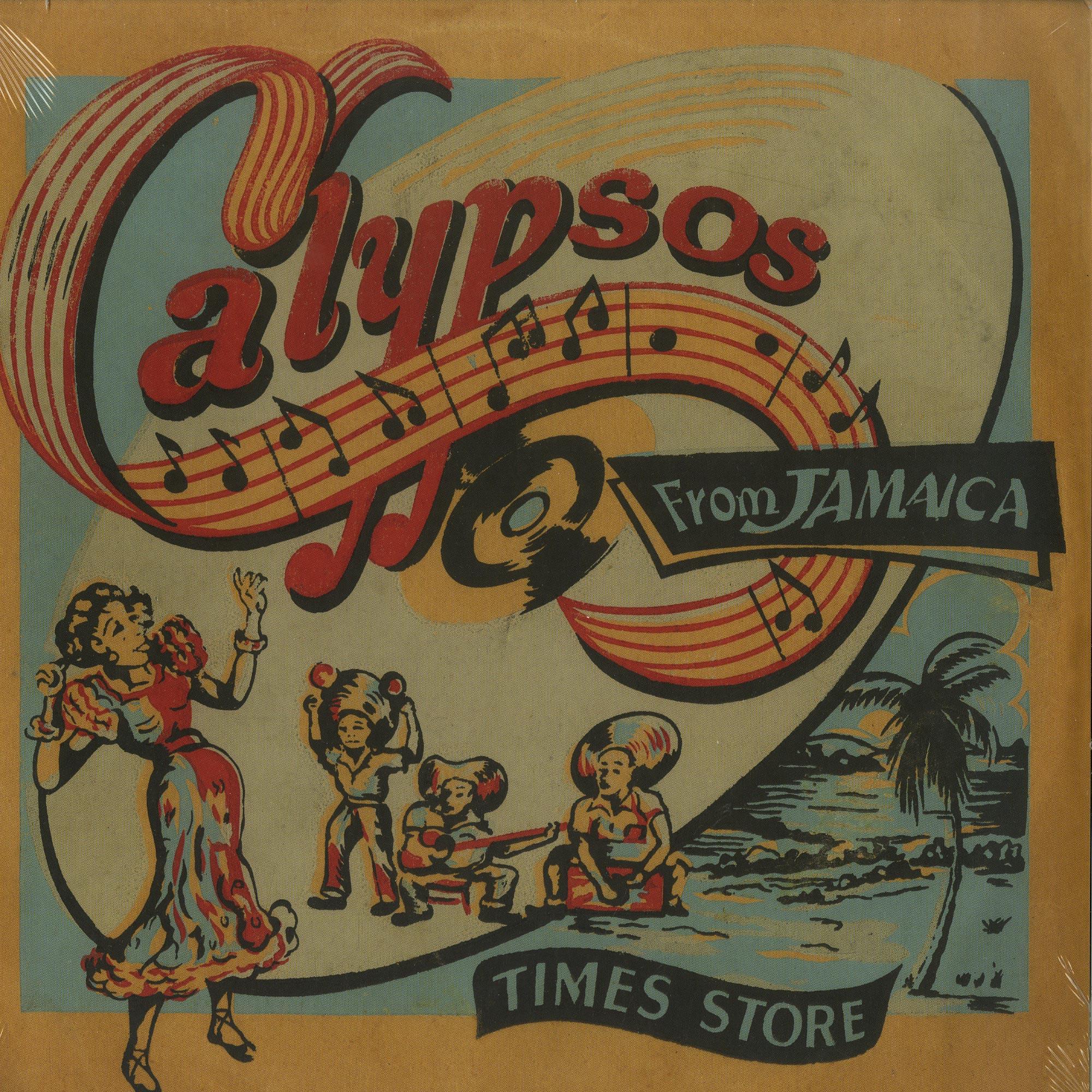 Hubert Porter & The Jamaican Calypsonians - CALYPSOS FROM JAMAICA