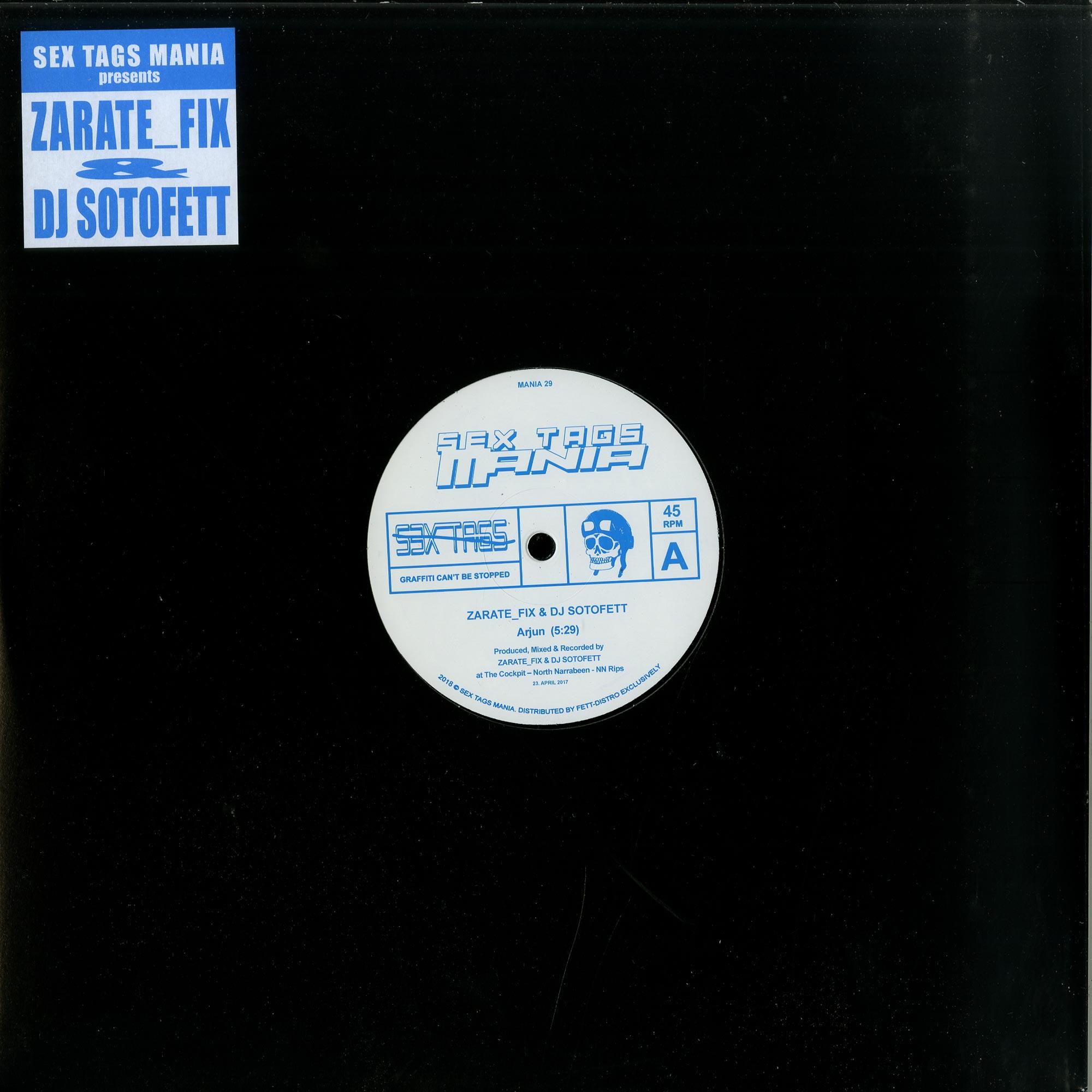 Zarate_fix & DJ Sotofett - ARJUN / AFROZ