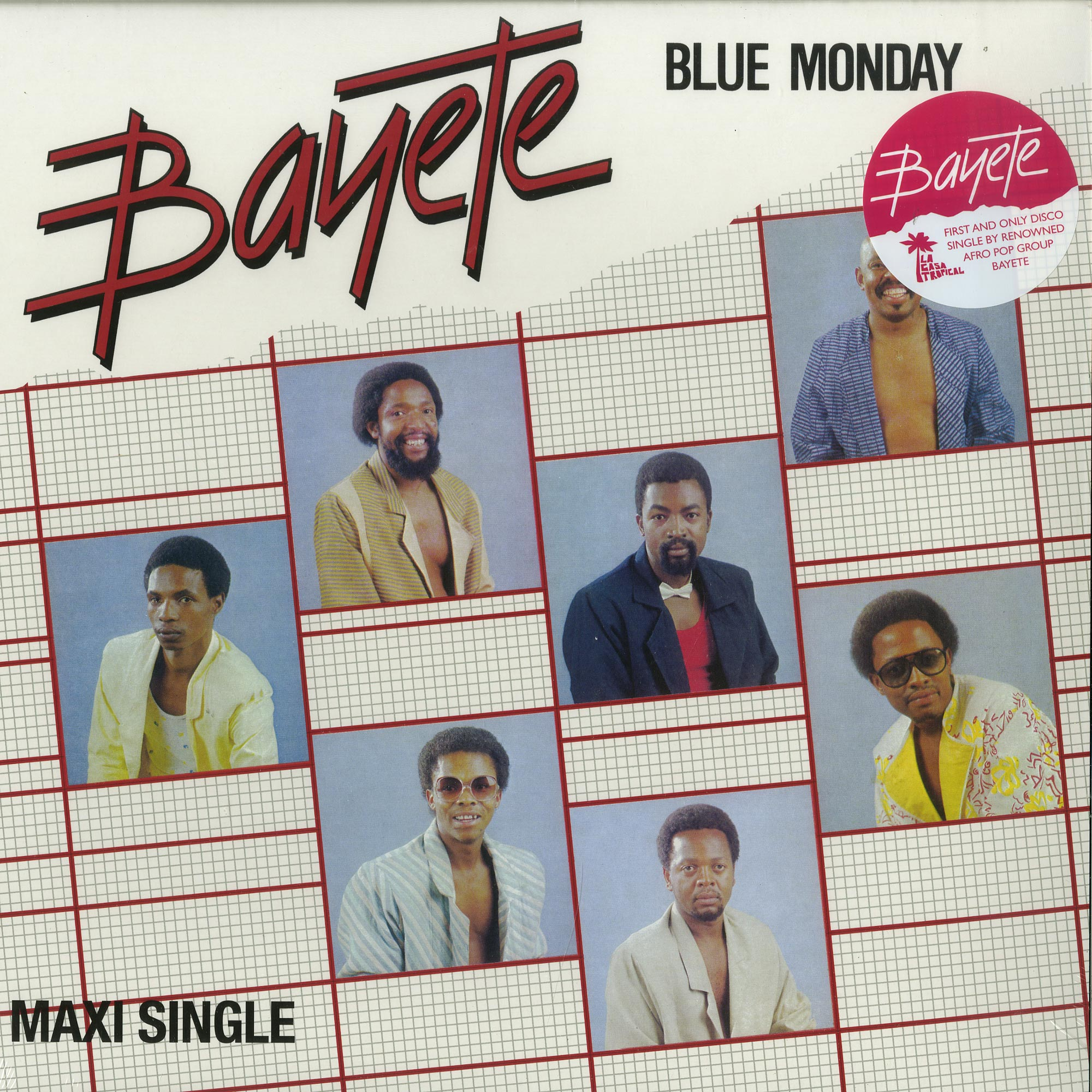Bayete - BLUE MONDAY / OPEN YOUR HEART