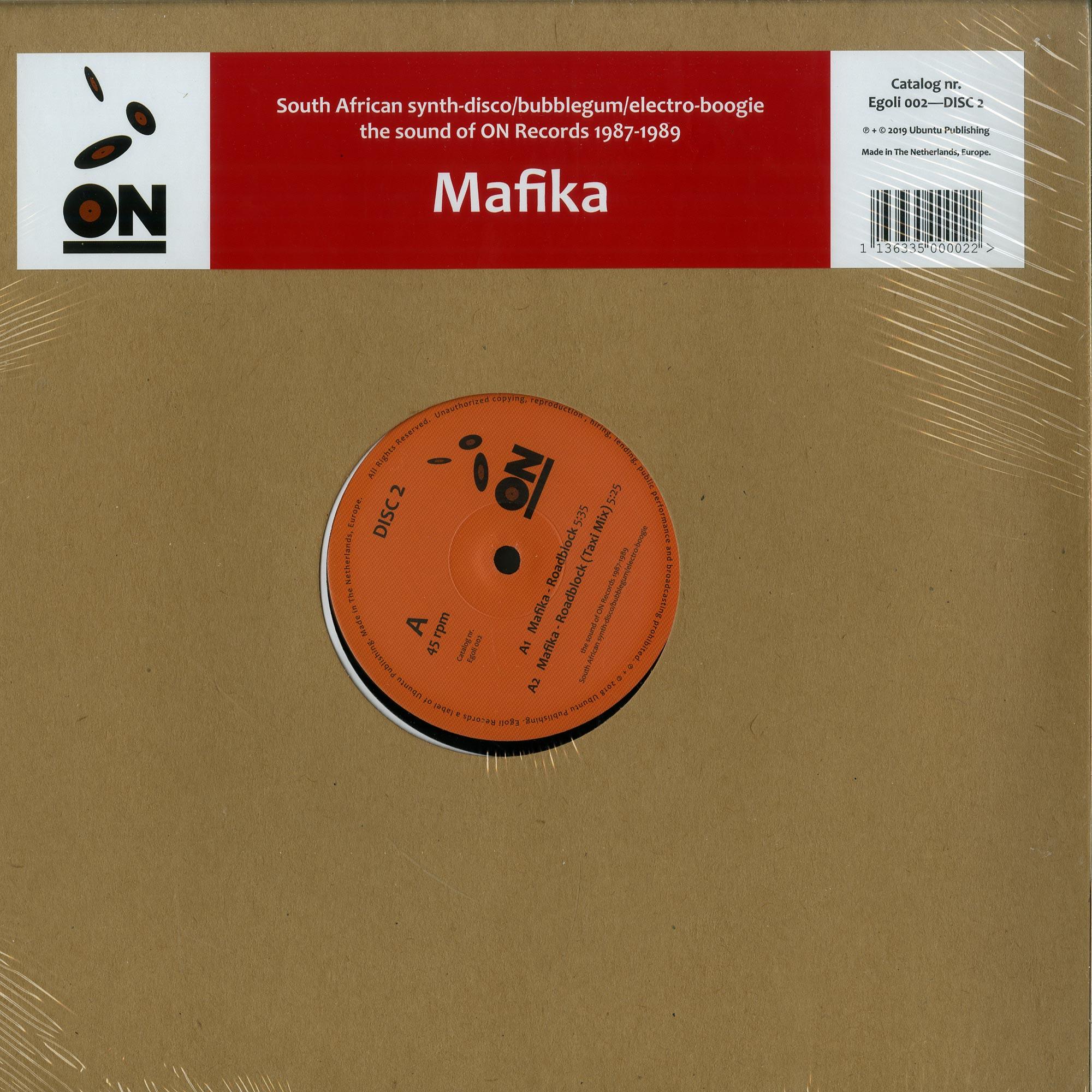 Egoli Records - MAFIKA