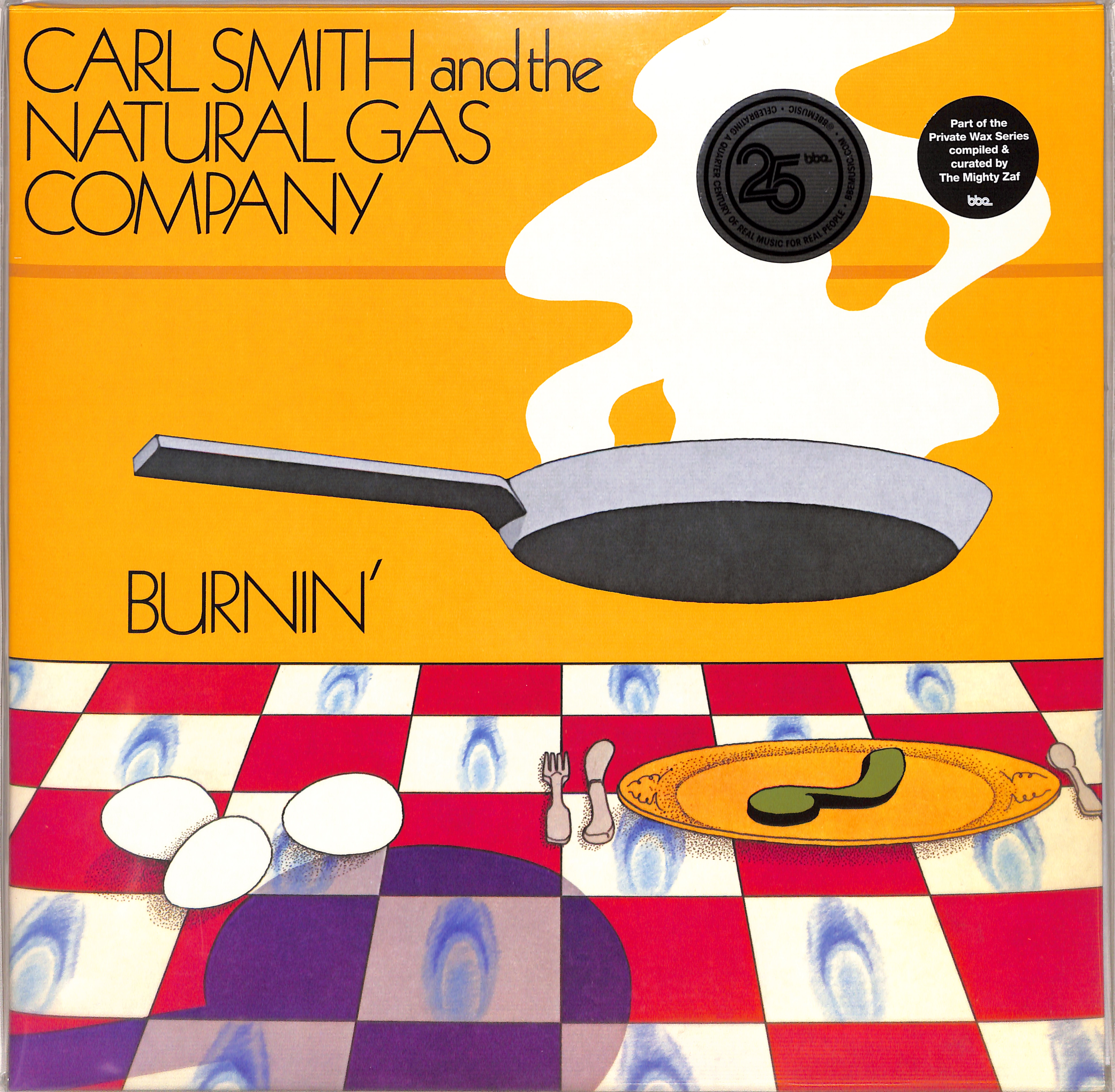 Carl Smith And The Natural Gas Company - BURNIN