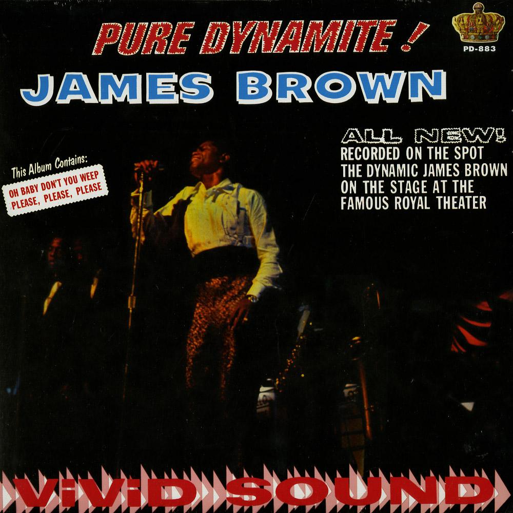 James Brown - PURE DYNAMIT